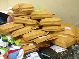 งานแพคส่งไปรษณีย์