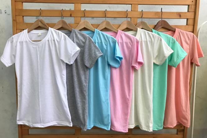เสื้อ ผ้า TK มี สีขาว, สีเทาท๊อปดราย, สีครีม, สีฟ้า, สีชมพู, สีโอรส, สีเขียวมิ้นท์